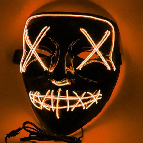 LED Purge Mask Orange