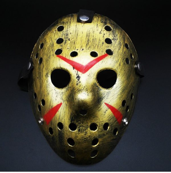 Jason Voorhees Mask Gold