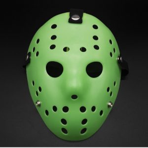 Jason Voorhees Hockey Mask green