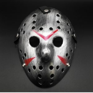 Jason Hockey Mask Silver Edition
