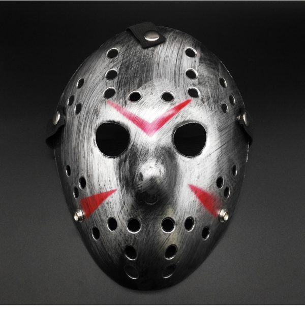 Jason Hockey Mask Silver Edition
