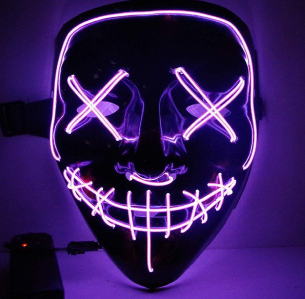 LED Purge Mask Purple