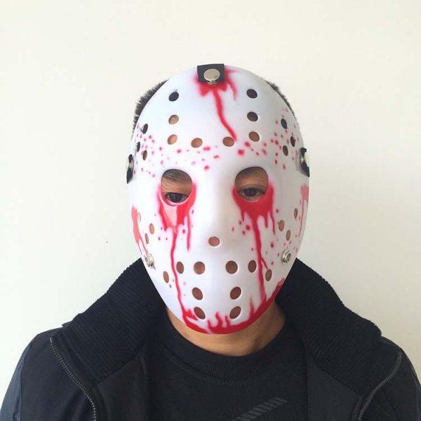 Jason Face Mask white edition