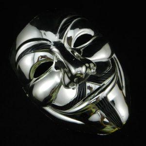 Silver Vendetta Mask