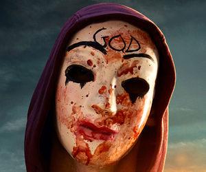 bloddy purge god mask