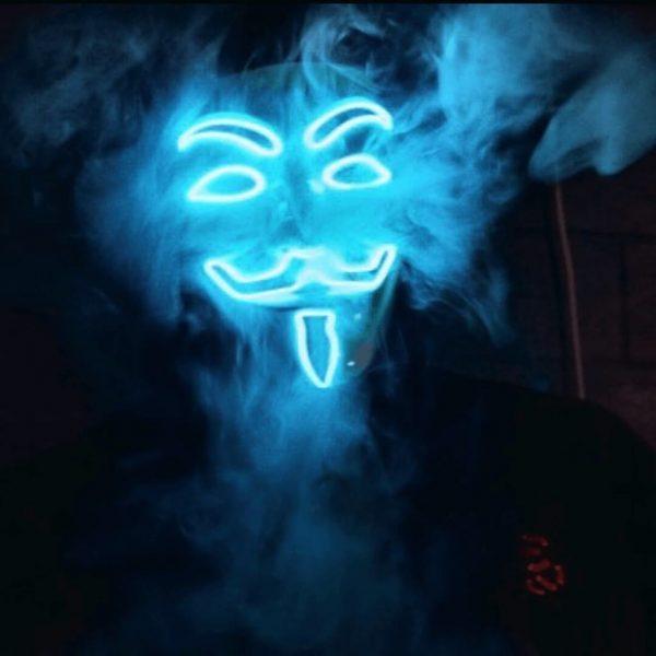 blue vendetta mask