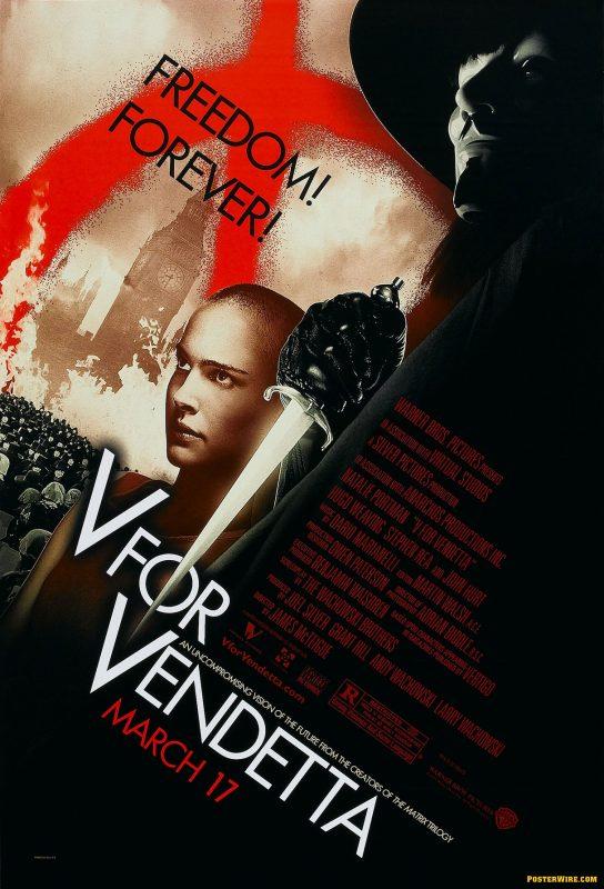 freedom forever v for vendetta march 17