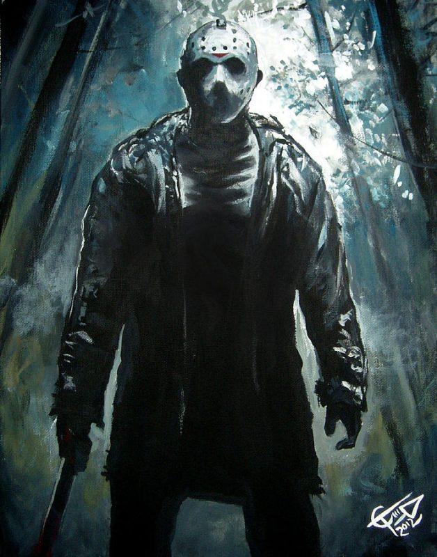 jason hockey mask halloween wallpaper