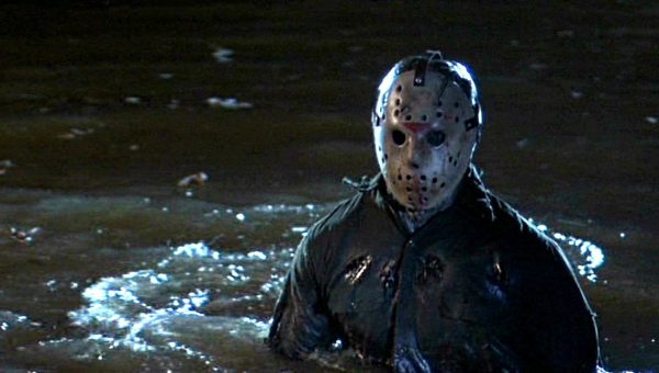 jason mask in crystal lake