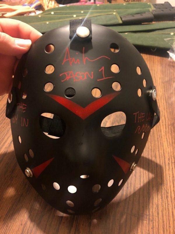 jason voorhees black hockey mask