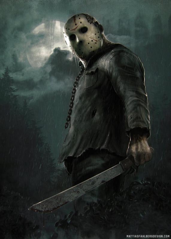 jason voorhees halloween mask wallpaper