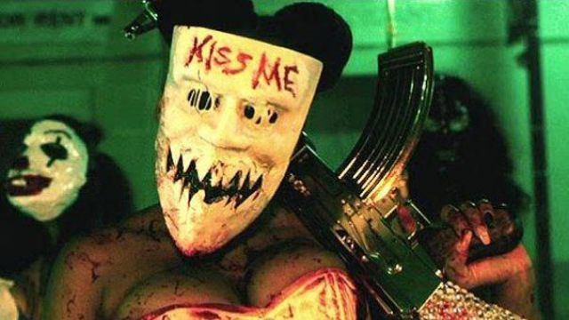 kiss me girl purge mask