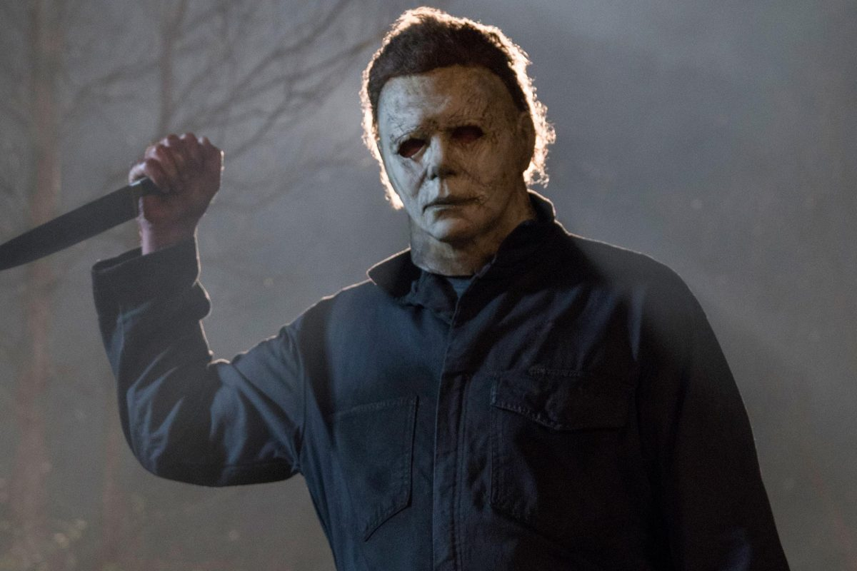 michael myers in the woods