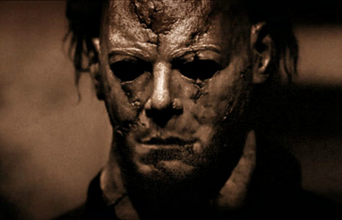 michael myers mask zombie