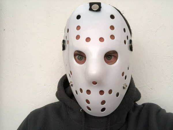 plain white jason mask