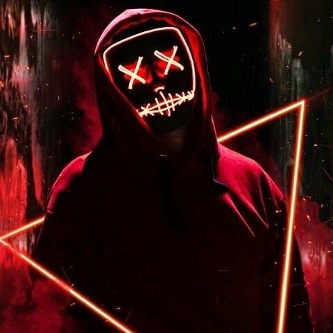 purge mask led red wallpaper