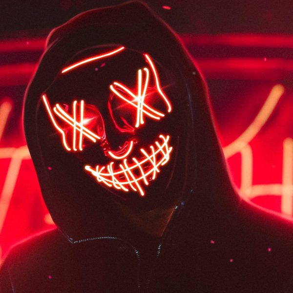 The Purge Mask LED That Light Up Red