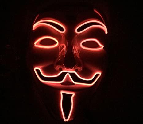 red vendetta mask