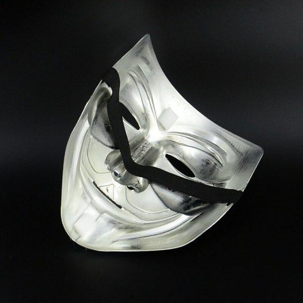 V For Vendetta Mask Silver