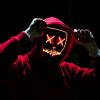 The Purge Mask LED That Light Up Orange