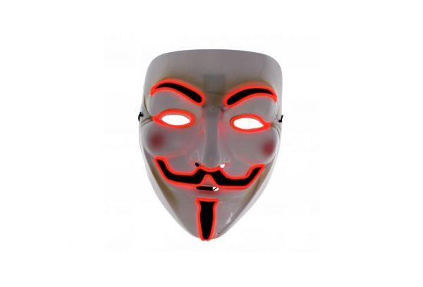 V For Vendetta Mask Red Edition