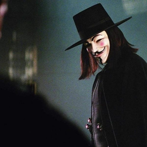 v vendetta in movie