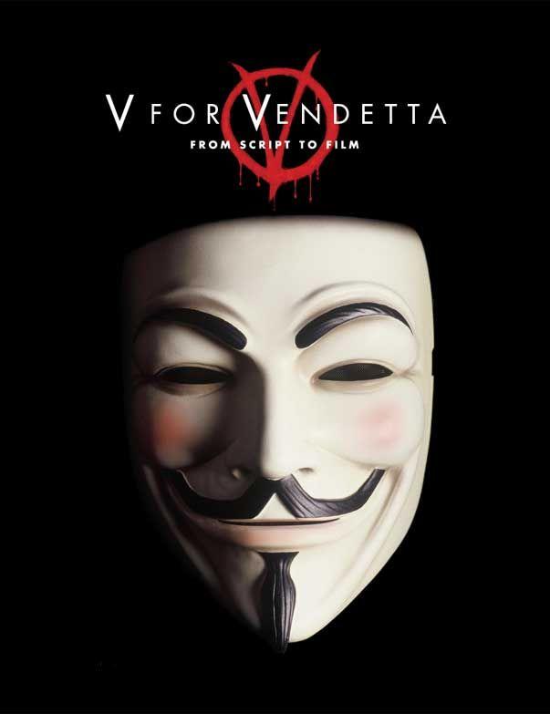 v vendetta white mask