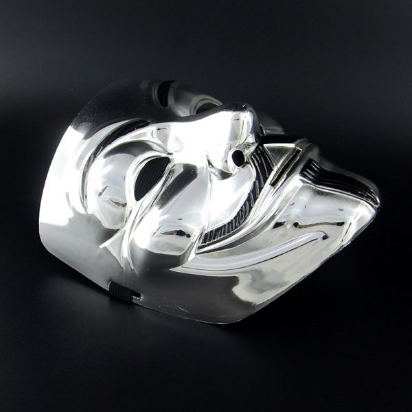 vendeta mask silver