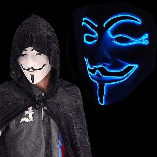 vendetta mask shop blue led