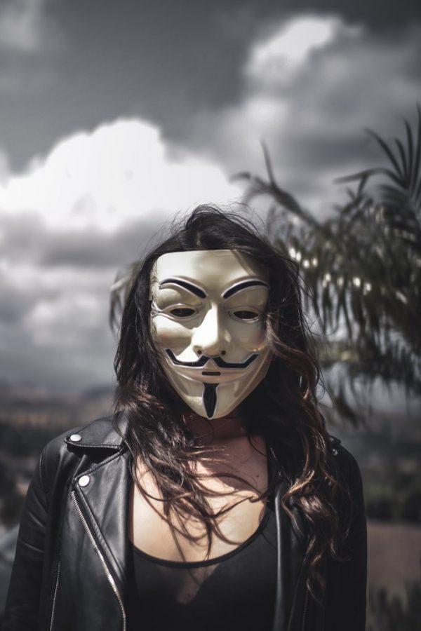 vendetta mask white for women