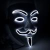 white led v vendetta mask