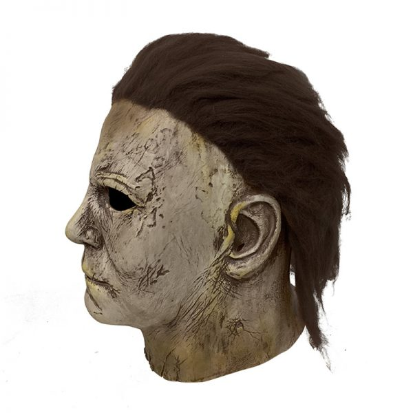 yellow face michael Myers mask for halloween