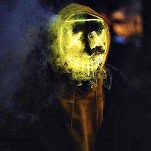 LED Purge Mask That Light Up Yellow