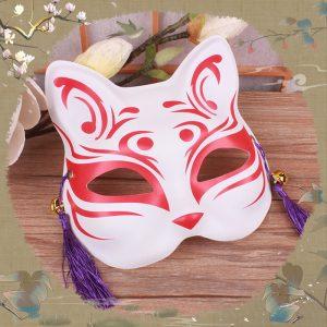 Kitsune Half Mask