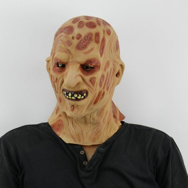 realistic freddy krueger silicone mask