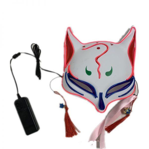 Japan Kitsune Mask LED That Light Up