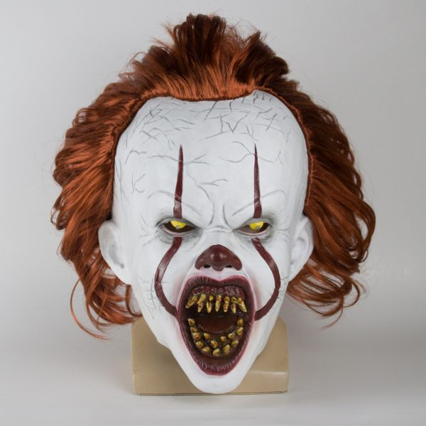 Pennywise Silicone Mask Realistic Clown