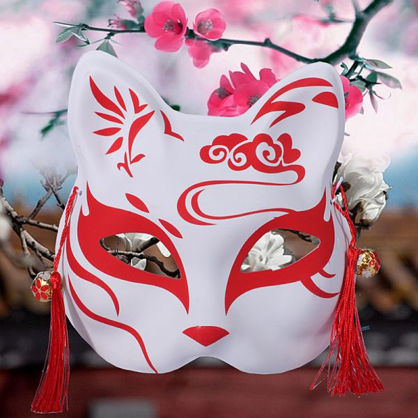 Japanese Fox Mask Demon Kitsune