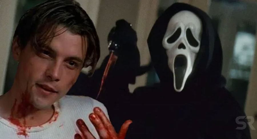 1996 scream blood