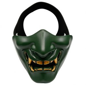Oni Mask Teeth Green