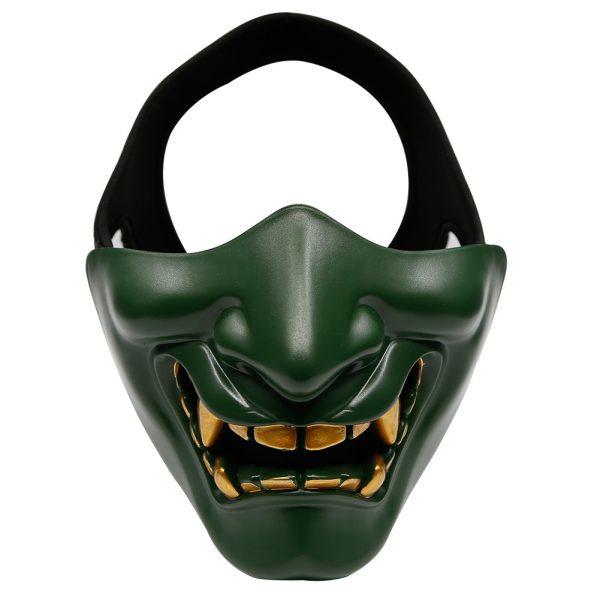 Oni Mask Teeth Green