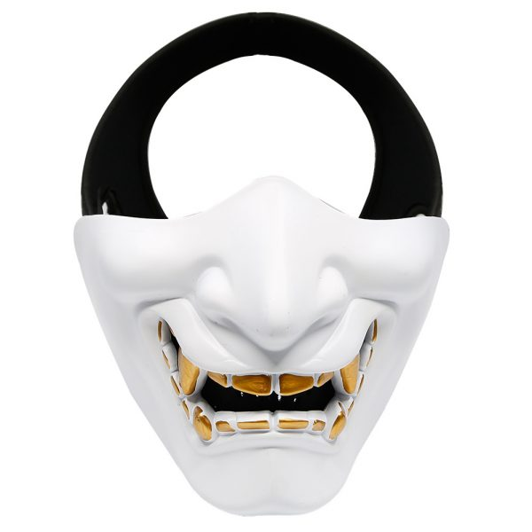 Oni Lower Face Mask White