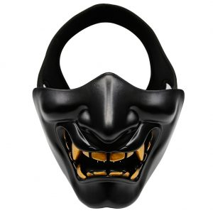 Oni Face Mask Black