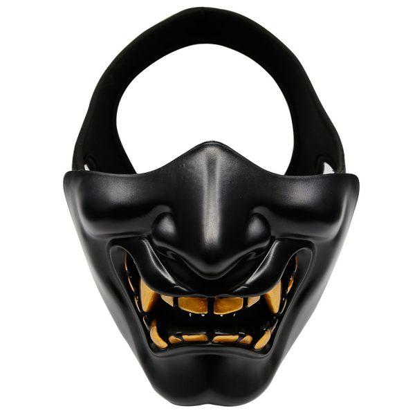 Oni Face Mask Black