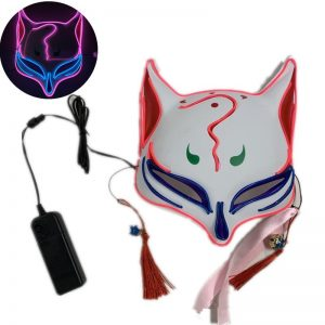 Japan Kitsune Mask LED