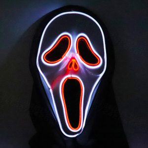Original Scream Mask LED Light Up