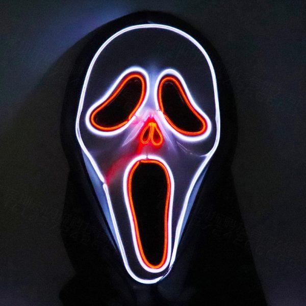 Original Scream Mask LED Light Up