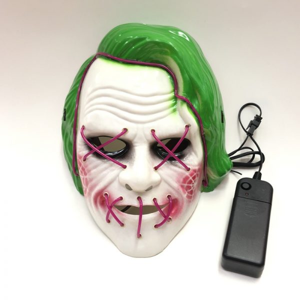 Joker Light Up Mask