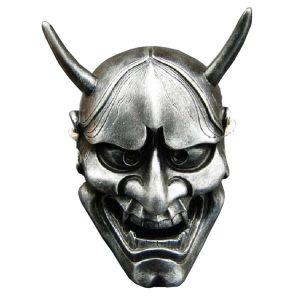 Oni Hannya Mask silver
