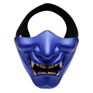 Oni Airsoft Mask Blue